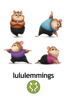 Lululemmings fashion poster. | We want to shop at the stores in Zootopia! | Inspired by Lululemon | [ http://blogs.disney.com/disney-style/lifestyle/2016/03/04/we-want-to-shop-at-the-stores-in-zootopia/ ]
