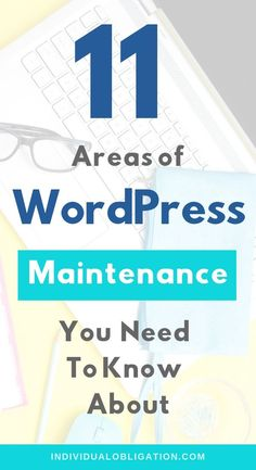 How to secure your WordPress maintenance for WordPress beginners. These 11 areas