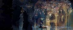 The Phantom of the Opera concept art by Celine Kim