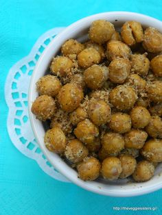 Roasted chickpeas: a perfect snack!