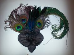 Peacock peacock wedding cruelty free boho boho by msformaldehyde, $32.00