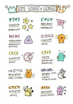 Japanese language - 擬態語と擬音語 ~Gitaigo and Giongo