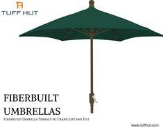 Fiberbuilt Umbrella Terrace ft dia w/ Crank Lift and Tilt - Tuffhut Outdoor Umbrellas, Shade Umbrellas, Home Furniture, Furniture Design, Interior Decorating, Interior Design, Home Collections, Flexibility, Rust