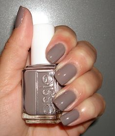 Painted my nails with CHINCHILLY tonight... love that it is a neutral and a color all at once! :)