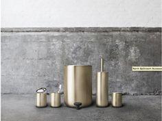 Brass Bathroom, Bling Bathroom, Toilet Brush, Bathroom Accessories,  Bathrooms, Architects, Ux/ui Designer, Menu, Copenhagen