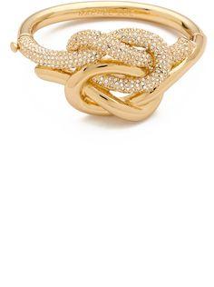 Rachel Zoe Gold Knot Bangle