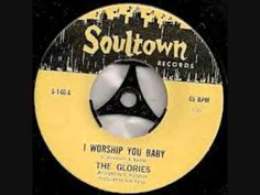 THE GLORIES - I worship you baby Vinyl Record Art, Vinyl Records, Northern Soul, Music Radio, Soul Music, Motown, Playlists, Worship, Archive