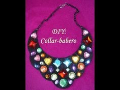 M DIY Collar Babero de Fieltro // DIY: Felt bib necklace