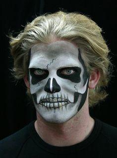 Skull Makeup #halloween makeup