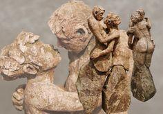 Marianne van den Berg, De eenvoud van de tweevoud, ceramic patinated 37 x 12 x 20cm