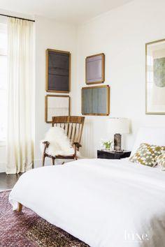 Bedroom corner with