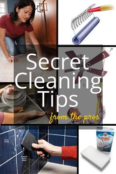 17 Secret Cleaning Tips From the Pros: Professional secrets that will make your house sparkle. http://www.familyhandyman.com/cleaning/secret-cleaning-tips-from-the-pros