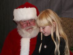 Santa - why wouldn't I admire him.  Look how many people he makes happy.