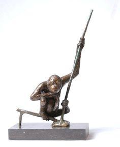 Orang Oetan (de denker) Greetje de Vries The Netherlands