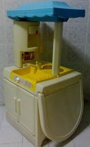 This is exactly the one we had.   Fisher Price Kitchen
