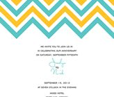 Free Printable Chevron Wedding Invitations