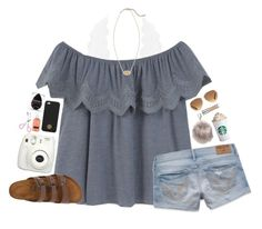 """""""just got starbuckslink to blog in d:)"""" by lydia-hh ❤ liked on Polyvore featuring Charlotte Russe, MANGO, Stella & Dot, Tory Burch, Nila Anthony, Urban Decay, Hollister Co., beautyblender, Neutrogena and Birkenstock"""