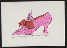 Untitled from À la recherche du shoe perdu Andy Warhol (American, 1928-1987)