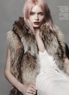 Abbey Lee Kershaw for Vogue China July 2012