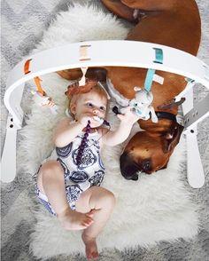 Organic Baby Toys - Finn + Emma Wood Play Gym