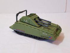 Vintage GI Joe Vehicle 1985 Armadillo Vehicle Mini Tank Toy Complete GIJOE Green #Hasbro