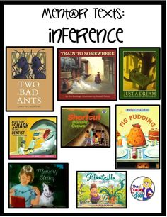 Teaching inferences: Mentor texts are a great way to teach reading strategies.