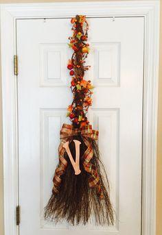 Fall cinnamon broom!!