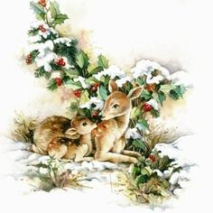 Image Library Designs Original illustrations occasions Christmas greetings cards: