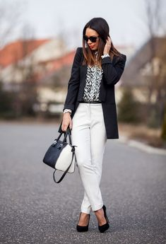 #blazer #suit #businesswear #female #officewear #smart #interview #fashion