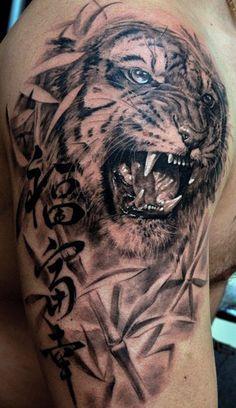 Realism Animal Tattoo by Dmitriy Samohin | Tattoo No. 155
