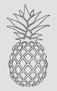 Fabulous Drawing On Creativity Ideas. Captivating Drawing On Creativity Ideas. Pineapple Drawing, Pineapple Tattoo, Pineapple Art, Pineapple Painting, Pineapple Sketch, Pineapple Pictures, Pencil Drawings Tumblr, Art Drawings, Embroidery Patterns