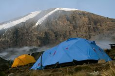 Kilimanjaro 018 Karango Camp Tent Stock Image - Image of kilimanjaro, altitude: 528569 Best Places To Camp, Mount Kilimanjaro, Stock Image, Nature Images, Tent Camping, Natural Wonders, See Picture, Tanzania, Trekking