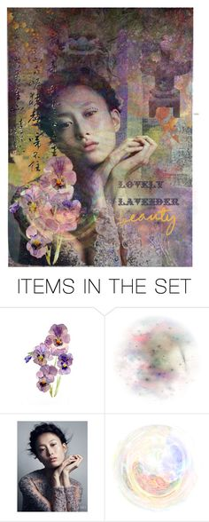"""""""*Lovely lavender beauty*   """"Top Art Set"""""""" by karineg ❤ liked on Polyvore featuring art"""