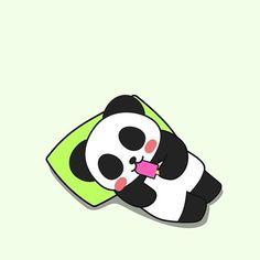 Summer! #panda #pandakuma #summer