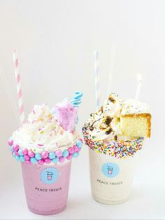 El With Mary Kay - Snacks für gäste - Helados Ideas Dessert Drinks, Yummy Drinks, Delicious Desserts, Yummy Food, Cute Food Wallpaper, Dessert Original, Unicorn Foods, Kawaii Dessert, Milkshake Recipes