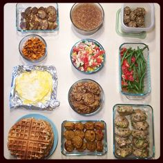 Food prep archive for inspiration.