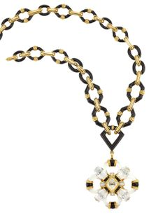 David Webb necklace will be up at auction at Doyles this week along with some amazing pieces from the estate of Consuelo Vanderbilt.