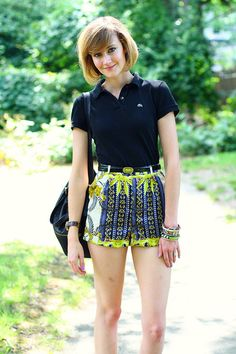 yup, still obsessed with these topshop shorts...
