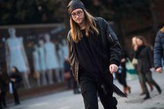 Pitti Uomo Fall 2014 Street Style Day 1.