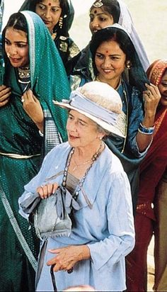 Dame Peggy Ashcroft as Mrs. Moore in, Davis Lean's epic film, 'A Passage to India', 1982 - Also staring Judy Davis, James Fox & Alec Guinness. English Actresses, Actors & Actresses, Film Finance, A Passage To India, David Lean, Alec Guinness, Epic Film, Lawrence Of Arabia, Movies