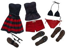 Hollister Summer, created by taryncandice on Polyvore