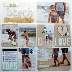 KarenScraps: Teresa Collins and We R Memory Keepers - Albums Made Easy Layouts