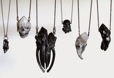 Seriously Ruined: Crystal Ossuary I : Jewelry Collection by floridxfauna