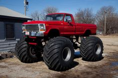 The story of this monster truck should be read by EVERY truck lover. You can find it on ford-. Definitely worth the read. Big Ford Trucks, 1979 Ford Truck, Classic Ford Trucks, Lifted Ford Trucks, 4x4 Trucks, Diesel Trucks, Cool Trucks, Truck Mods, Mudding Trucks