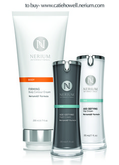Package all three together and get a great discount!  Go to www.catiehowell.nerium.com to find out more.