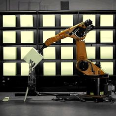 Kram/Weisshaar's Clemens Weisshaar explains how his Robochop project allows users around the world to harness the power of a robotic arm in this movie