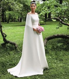 Giovanna Battaglia Wore Another Incredible Wedding Dress By Valentino The Civil traditional gown - see my Board Real life wedding to get a glimpse of all 4 dresses her beautiful smile and personality.
