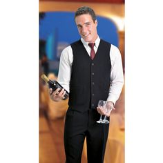 John Waistcoat Brand: VANGARD Has Jetted pockets Corporate Outfits, Trousers, Vest, Pockets, Clothing, Model, Dresses, Fashion, Pants
