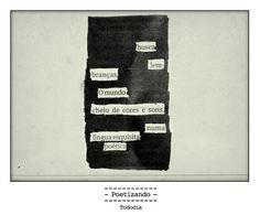 """Poesia """"achada"""" no jornal do dia 18/01 pela poeta Lilian Aquino."""