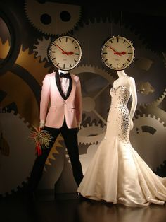 "Kleinfeld's ""Perfect Timing"" display"
